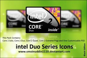 Intel Duo Series Icons BE by smoinuddin1110