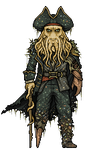 Davy Jones by alexmicroheroes