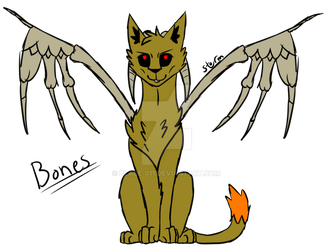 Adopt  Creation Cats Bones by Blade-011