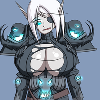 Blood Elf Death Knight by Soap9000