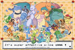 It's Super Effective Since 1996! by mkmatsumoto