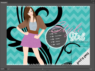 Style Girl Doll by MarNelyDesigns