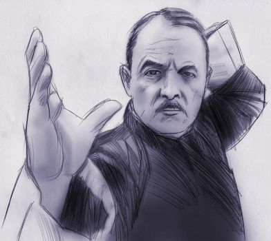 John Hillerman / Higgins by baslergrafik