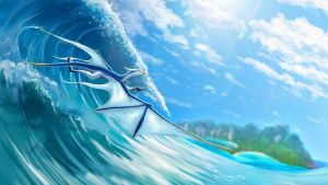 Perfect Wave by suzidragonlady