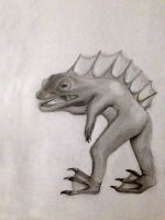 Spiny Frogman by ResultsOfMonopoly