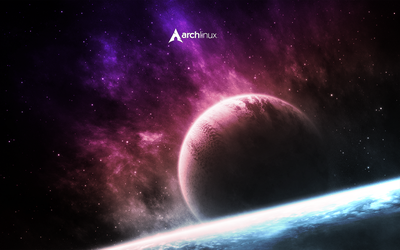 Arch Space Wallpaper by Paaskehare