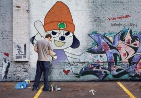 Parappa in the walls by yumifan