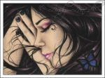 A Gothic Dream ACEO by Zindy