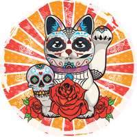 Lucky Day of the Dead by abgstudios