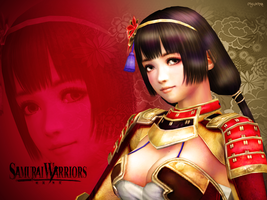Naotora Ii Wallpaper 01 by mylochka