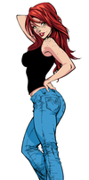 Mary Jane Watson by MaFLasd