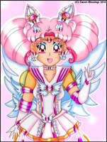 Miracle Sailor Chibi Moon by Sweet-Blessings