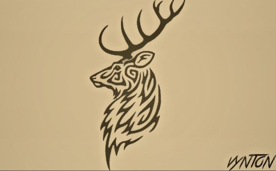 THE FEARLESS STAG by Vynton
