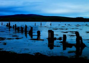 Timber Ponds at Dusk 2 by Crannogphotographic