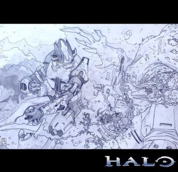 [Halo] I'll deal with these beasts by seg0lene