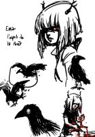 Ema and the Raven 2 by Little-Mana