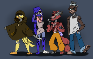 Withered Squad by Mimitori145