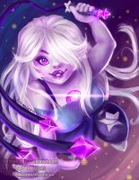 Amethyst from Steven Universe by kozmica64