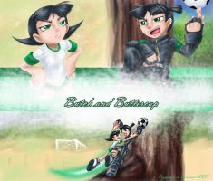 Butch and Buttercup Wallpaper by propimol