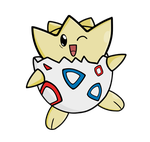 Togepi by Bricus27