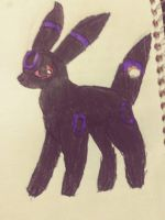 Raven the umbreon by cyndaquil22
