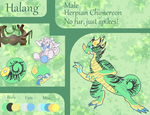 Halang [Reference sheet] by CandyCornFeather