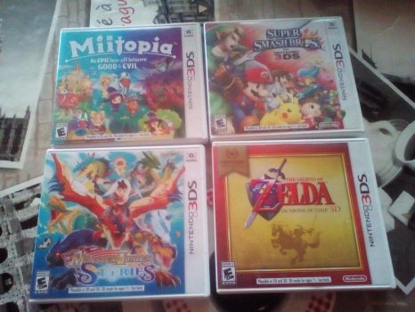 My 3ds games by Alejandro10000