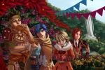 Baten Kaitos - City of Flowers by StarsAndOceans