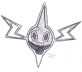 Rotom by DrChrisman