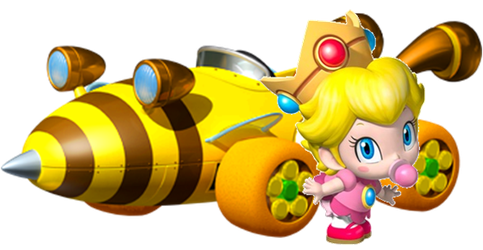Baby Peach by Galaxy-Afro