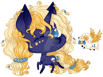 [P] Chibi Starry Dreams by tinuleaf