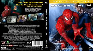 Spider-Man 4 (2011) Blu-ray Cover by childlogiclabs