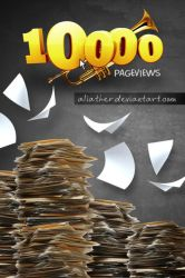10000 Page Views by aliather