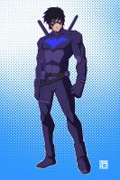 Young Justice - Nightwing by kawoninja