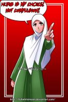 HIJAB is my Choice by FullWhiteMoon