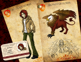 Monster Academy - Aristaeus. by Yumikerr