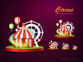 Circus Icon by fengsj
