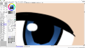 Navy Eyes WIP by Musa-Eyre