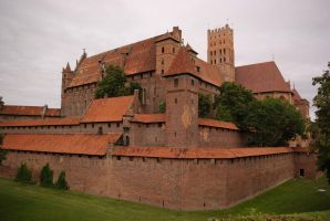 Castle in Malbork (Poland) by Wodzionka81