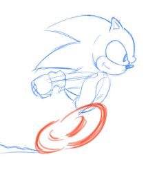 Sonic Running Animation by Chauvels