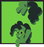 Pinkie in Green by Zacatron94