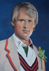 Peter Davidson as the Fifth Dr Who by EclepticGears