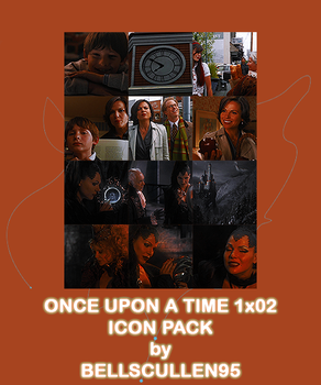 once upon a time 1x02 icon pack by BellsCullen95