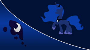 Princess Luna Wallpaper [Series 3] by ArgonByte