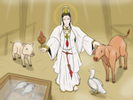 Guan Yin - Abattoir house savior by VachalenXEON