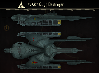 Qugh Destroyer by Martechi
