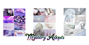 Mystery Adopts | CLOSED by CrystalQuill