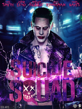 Poster Suicide Squad - Joker by CCG-ARTS
