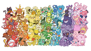 A colorful Poke-Rainbow! by BoxBird