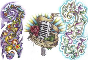 Tattoo Flash - music by cynthiardematteo